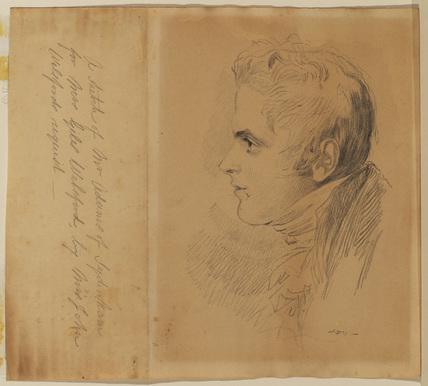 Portrait of Mr Adams of Sydenham