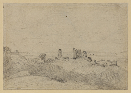 Hadleigh Castle, Essex (recto)