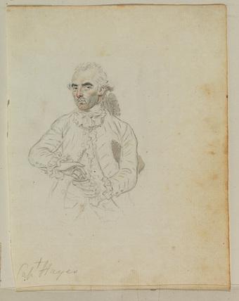 Portrait of a man - Captain Hayes (?)