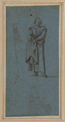 Standing figure of a man (verso)