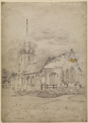 Church at Yoxford, Suffolk
