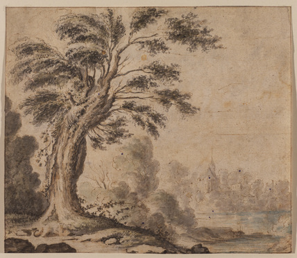 Lanscape with a tree