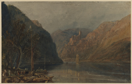 St Goarshausen and Katz Castle