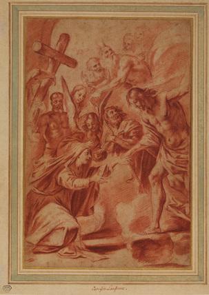 Christ descends into Limbo