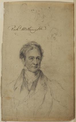 Portrait of Sir Robert Peel Bart.