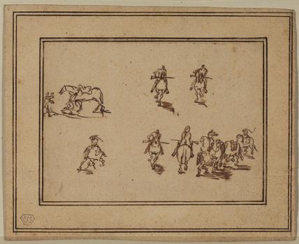 Studies of horsemen