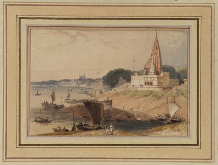 View of Benares, India