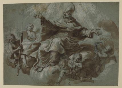 Apotheosis of a saint