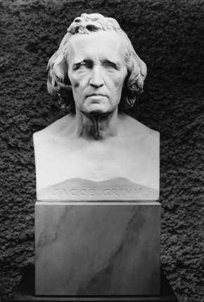 Bust of Jacob Grimm