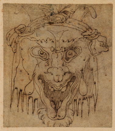 Grotesque head