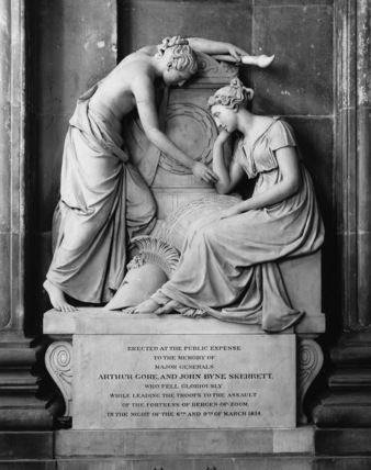 St Paul's Cathedral;Monument to Arthur Gore and John Byne Skerrett