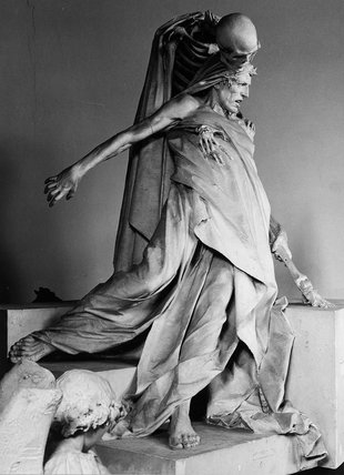 Model of monument Tenax Vitae