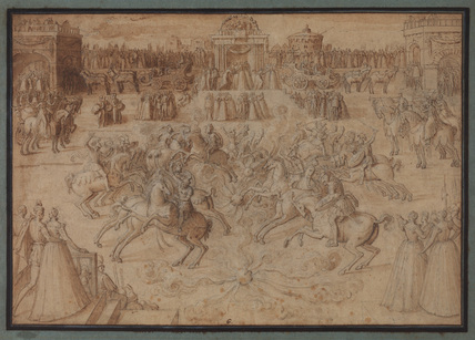 Carousel of British and Irish knights