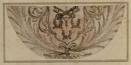 Design for an unidentified coat-of-arms