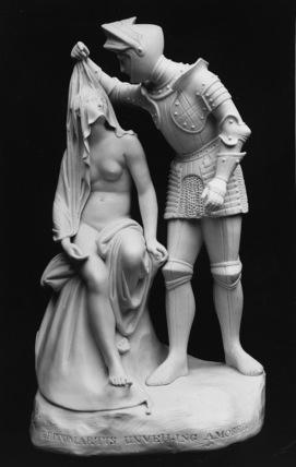 Britomartis  Unveiling Amoret, from Spenser's The Faerie Queene
