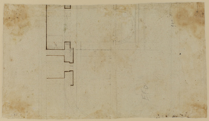 Architectural design (verso)