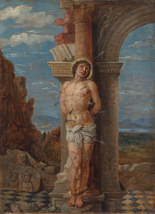 Saint Sebastian (after Andrea Mantegna)