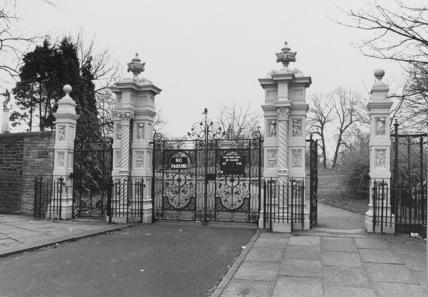 Ornamental Park Gates