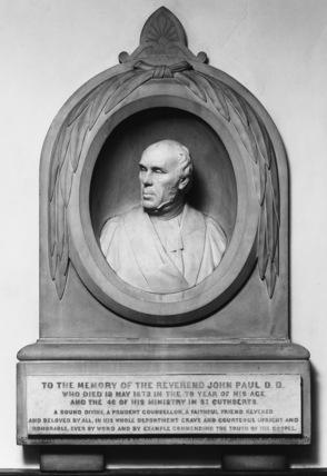 Monument to the Reverend John Paul