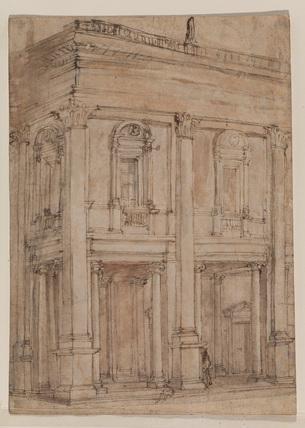 Corner of the Capitol, Rome