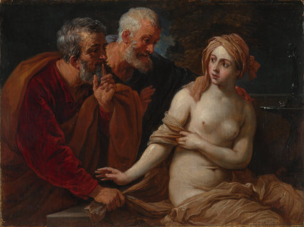 Susannah and the Elders (after Guido Reni)