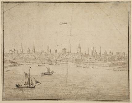 View of Dublin (recto)