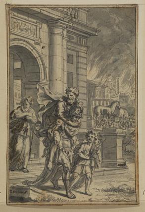Burning of Troy