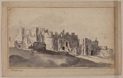 View of a castle - Dover (?)