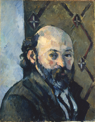 Copy after a self-portrait by Cézanne