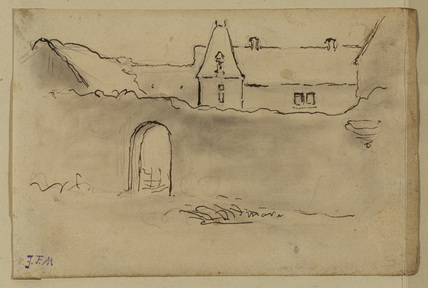 View of a chateau