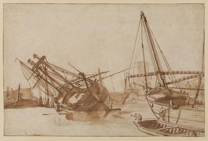 Harbour scene - Naples