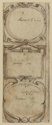 Ornamental frames (verso)