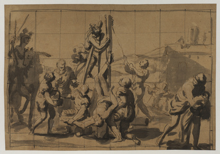 Martyrdom of Saint Peter (recto)