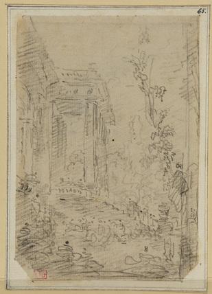 Study of a portico