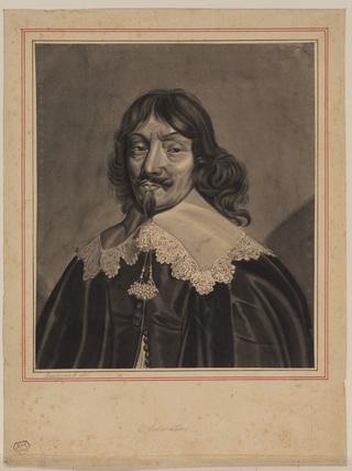 Portrait of Claude de Salmasius