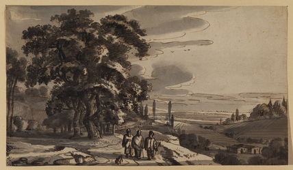 Landscape with the Journey to Emmaus