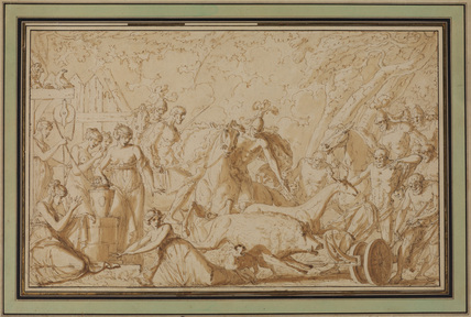 Hunting of the Calydonian boar