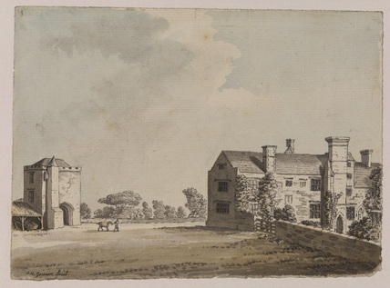 View of Mickleham Priory, Sussex