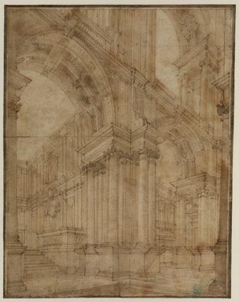 Architectural capriccio - stage design