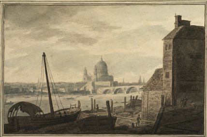 View of London, with Saint Paul's