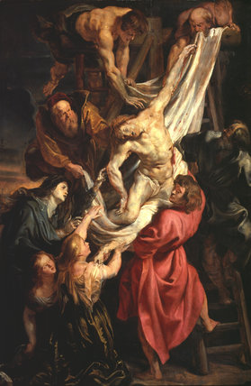 The Descent from the Cross, triptych (centre panel)
