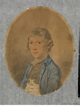 Bust portrait of a boy (recto)