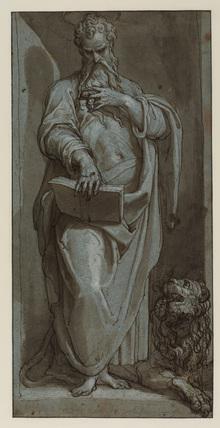 Saint Mark (recto)