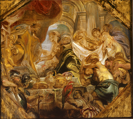 Solomon receiving the Queen of Sheba