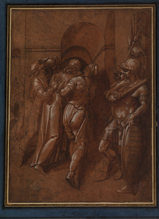 Christ taken from Pilatus