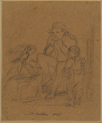 Study for 'The Jew's Harp' (Lord Lansdowne collection)