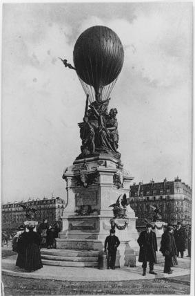 Memorial to Aeronauts in the Siege of Paris