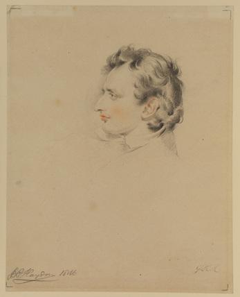 Portrait head of Benjamin Robert Haydon