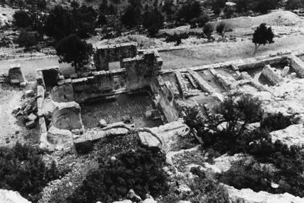 Alahan Monastery;Baptistery