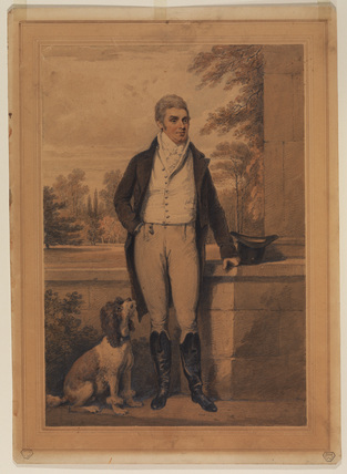 Full-length portrait of a man